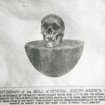Old Poster of Warren\'s Skull