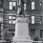 Warren Statue in Roxbury 1905