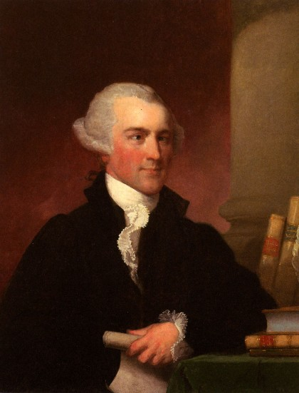 Josiah Quincy, Jr. (1744-1775) by Gilbert Stuart
