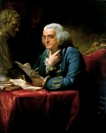 Benjamin Franklin by David Martin 1767