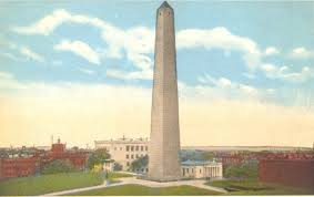 Bunker Hill Monument in Charlestown, Massachusetts