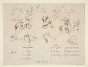 Bunker's Hill key by John Trumbull 1790 Yale University Art Gallery