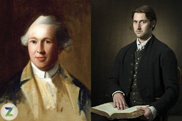 Actor Ryan Eggold as Dr. Joseph Warren in History Channel's 'Sons of Liberty'