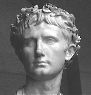 Quintus Horatius Flaccus, bust of the ancient Roman poet