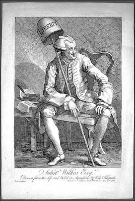 John Wilkes, 18c engraving