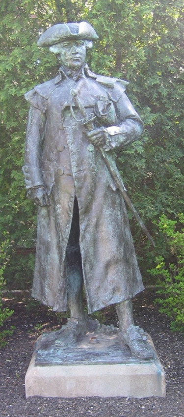 Dr. Joseph Warren, statue by Paul Bartlett 1903